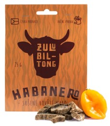 Zulu Biltong Habanero – 25 g