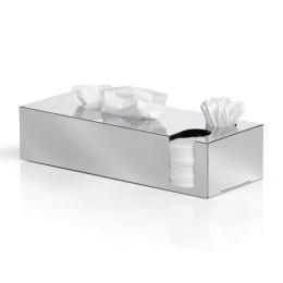 Box na hygienické potřeby NEXIO lesklý