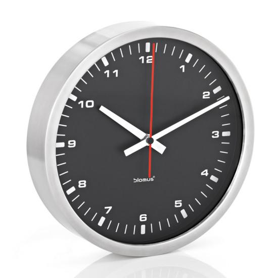 Nástěnné hodiny ERA černé 24 cm