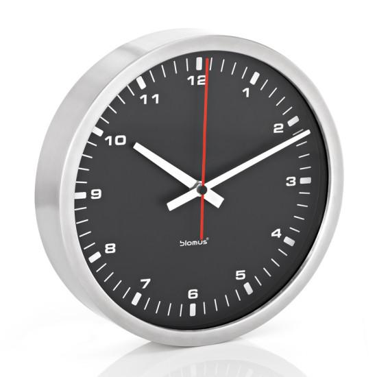 Nástěnné hodiny ERA černé 30 cm