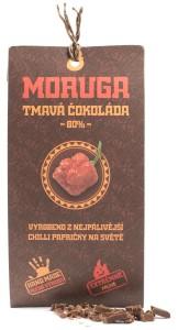 chilli.tmavá čokoláda moruga s chilli.chillikuchyne.cz