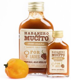 Chilli omáčka Habanero Mučíto for Ladies 100 ml