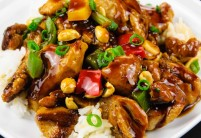 Pikantní kuřecí kung pao – recept zdarma