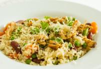 Pikantní krůtí nudličky s fazolemi – recept zdarma