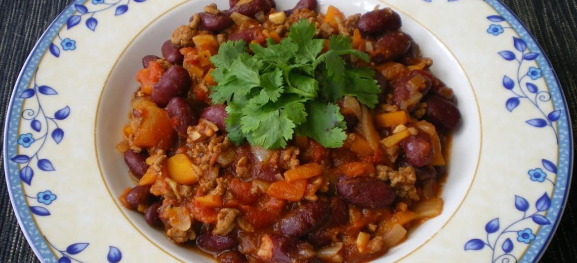 Jamie Oliver vaří chilli con carne