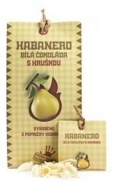 Bílá čokoláda Habanero s hruškou 45 g