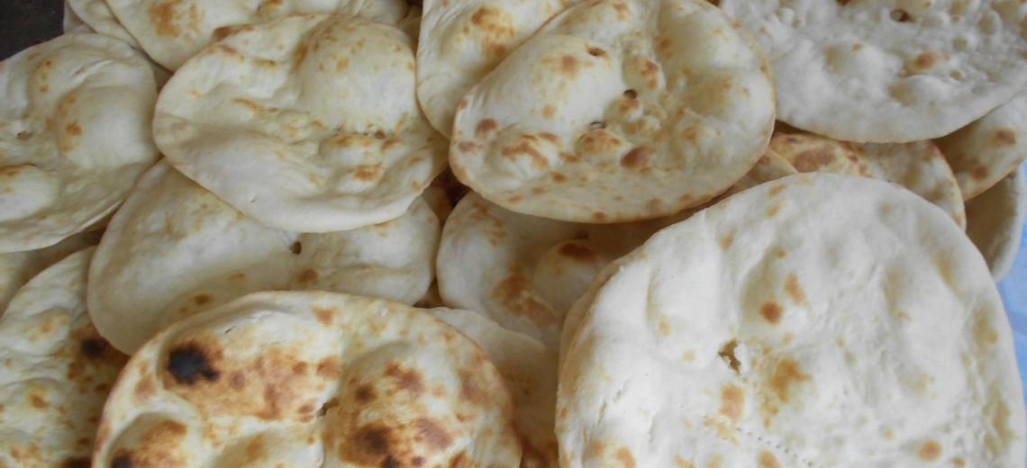 Indický chléb roti – recept na přání