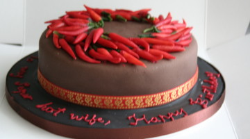 Čokoládový chilli dort podle Jamieho Olivera