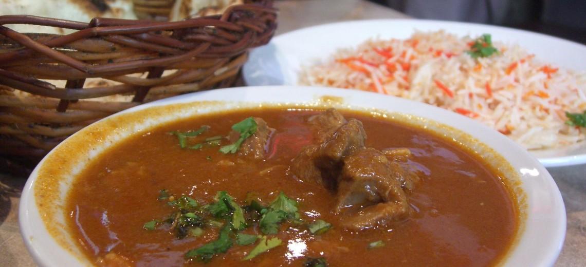 Jamajské kozí curry