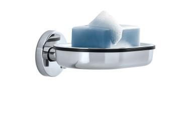 Miska na mýdlo do zdi AREO lesklá