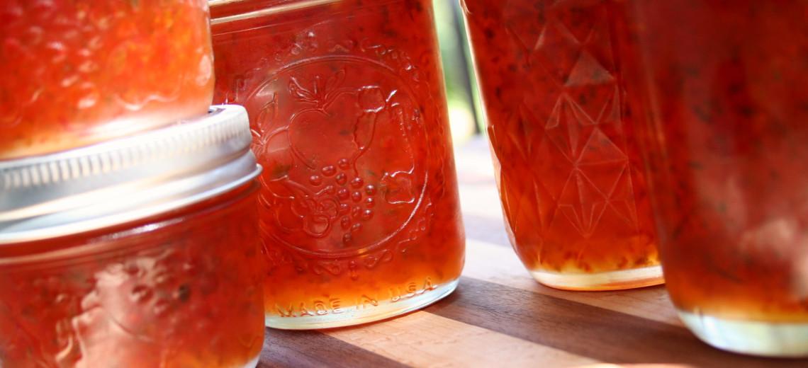 Meruňkový džem s chilli