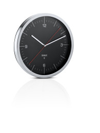 Nástěnné hodiny CRONO černé 30,5 cm