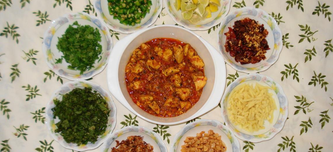 Kuře ve sladce peprné curry omáčce