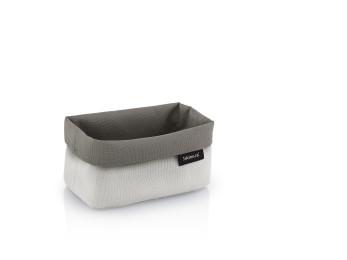 Střední košík na kosmetiku ARA pískový/hnědý