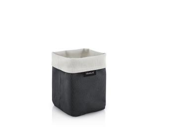 Malý košík na kosmetiku ARA pískový/šedý