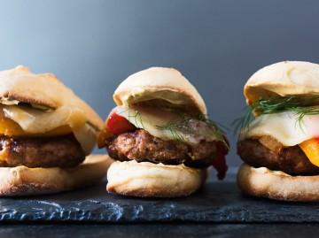 Standův rychlý domácí burger
