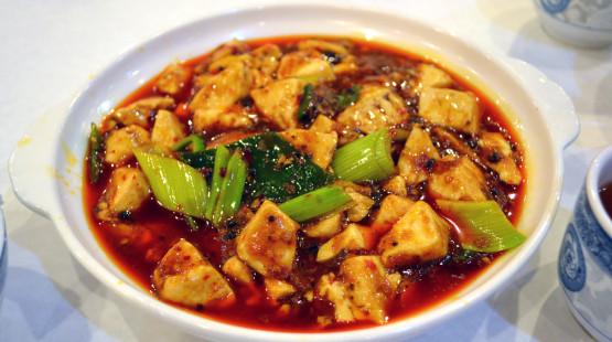 Chilli tofu