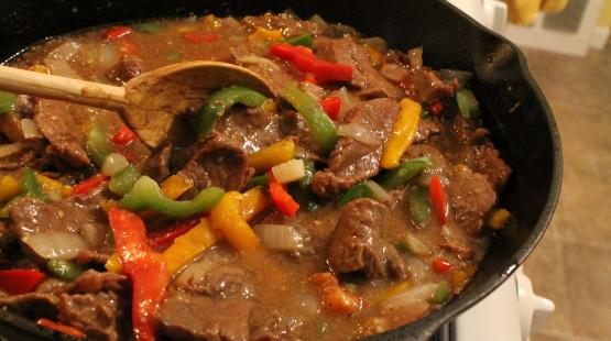 Jamajský steak s chilli omáčkou