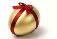 Pořádně ostré vánoční vajíčko