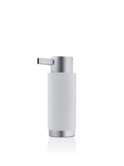 Dávkovač na mýdlo v popelavě šedé barvě
