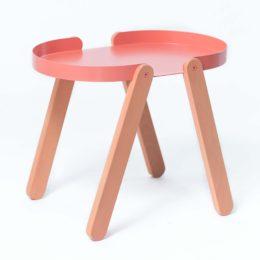 Odkládací oranžový stolek TEPSI
