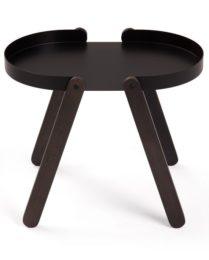Odkládací stolek černý TEPSI